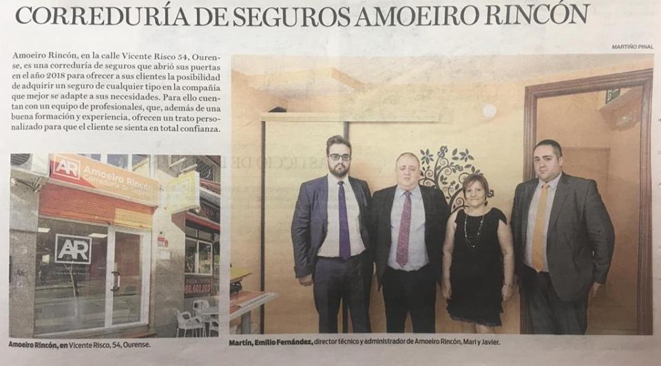 Recorte prensa La Región